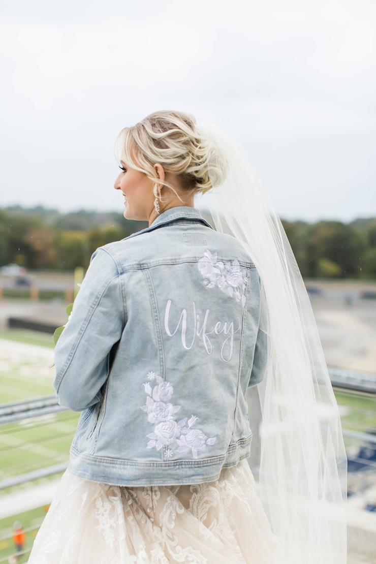 Oh Sarah Jean Style #Wifey Jacket Image